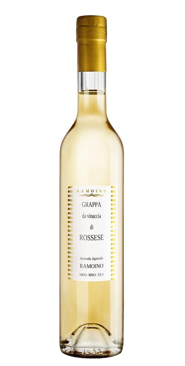 grappa rossese - Ramoino Vini - Grappa da vinaccia di Rossese
