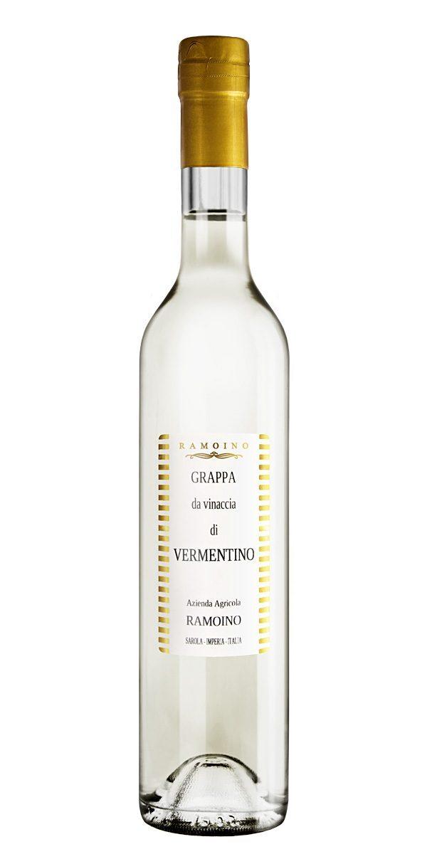 grappa vermentino- Ramoino Vini - Grappa da vinaccia di Vermentino